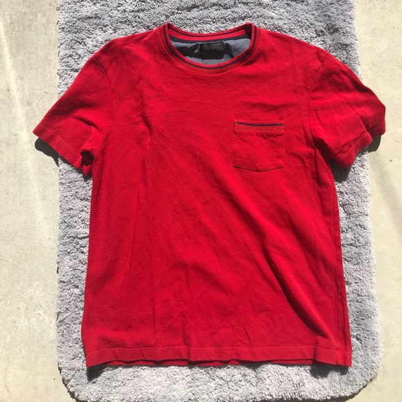 Red ZARA T-shirt